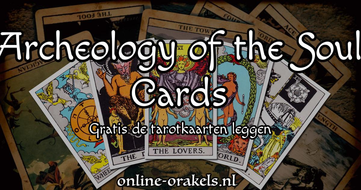 TAROT-DECK ARCHEOLOGY OF THE SOUL CARDS